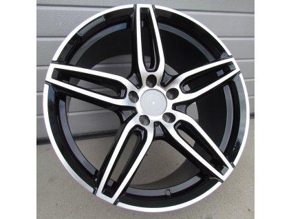 Alu kola design Mercedes 19x8 5x112 ET43 66.6 černé