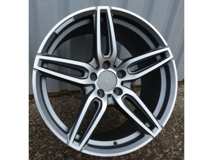 Alu kola design Mercedes 19x8 5x112 ET43 66.6 šedé