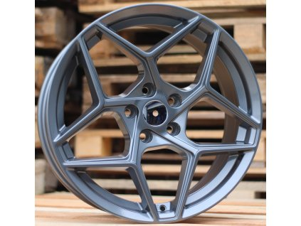 Alu kola design  19x8.5 5x112 ET35 66.5 šedé