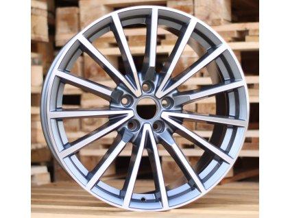 Alu kola design Audi 18x8 5x112 ET35 66.45 šedé