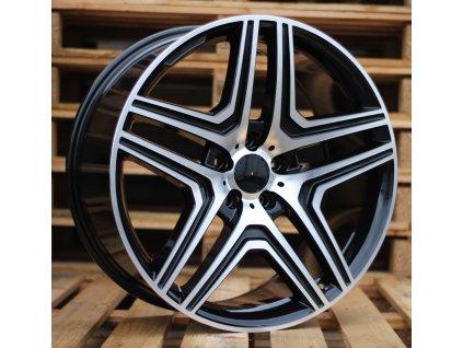 Alu kola design Mercedes 17x8 5x112 ET45 66.6 černé