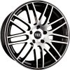 Alu kola TEC Speedwheels GT1 22x9,5J 5x130 ET50 CB71,5 black-polished