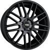 Alu kola TEC Speedwheels GT1 22x9,5J 5x130 ET50 CB71,5 Schwarz-Seidenmatt