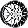 Alu kola TEC Speedwheels GT4 19x8,5J 5x112 ET38 CB72,5 black-polished