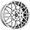 Alu kola TEC Speedwheels GT4 19x8,5J 5x114,3 ET40 CB72,5 silver-polished