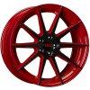 Alu kola TEC Speedwheels GT7 19x9,5J 5x112 ET35 CB72,5 black-red 2-tone
