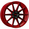 Alu kola TEC Speedwheels GT7 19x9,5J 5x120 ET38 CB72,6 black-red 2-tone