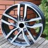 Alu kola VW 15x6 5x112 ET42 57.1 Black Half Matt