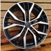 Alu kola VW 17x7 5x112 ET41 57 Black Half Matt