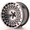 Alu kola Japan Racing JR14 16x8 ET25 4x100 Gloss Black w/Machined Face