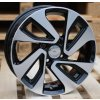Alu kola design Kia 15x6 4x100 ET45 54,1 černé