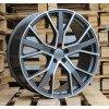 Alu kola design Audi 22x10 5x112 ET26 66,4 šedé