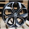 Alu kola design Renault 15x6.5 5x114.3 ET45 66.1 černé