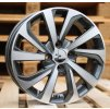 Alu kola design Hyundai 15x6 4x100 ET45 54.1 šedé