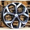 Alu kola design Kia 17x7 5x114.3 ET53 67.1 černé