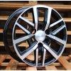 Alu kola design Toyota 16x7 6x139.7 ET30 106.1 černé