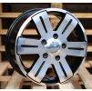 Alu kola design  16x7 6x130 ET55 84.1 černé