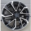 Alu kola design Toyota 17x7 5x100 ET40 54.1 černé