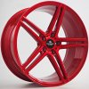 Alu kola Forzza Bosan 9x20 5x120 ET30 72,6 Candy Red