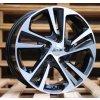 Alu kola design Hyundai 15x6 4x100 ET40 54.1 černé