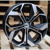 Alu kola design Renault 17x7 5x114.3 ET45 66.1 černé