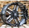 Alu kola design Offroad 22x12 5x150 ET-44 110.2 černé