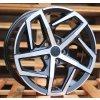 Alu kola design Volkswagen 17x7.5 5x100 ET40 57.1 šedé