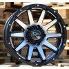 Alu kola design Offroad 17x9 5x139.7 ET0 110 černé