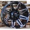 Alu kola design Offroad 22x12 8x170 ET-44 125.1 černé