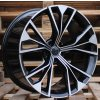Alu kola design Audi 21x10 5x112 ET20 66.45 černé