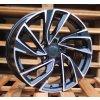 Alu kola design Volkswagen 18x8 5x112 ET45 57.1 černé