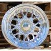 Alu kola Haxer 16x8 8x100/114.3 ET15 73.1 stříbrné