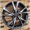 Alu kola design Honda 17x7 5x114.3 ET45 64.1 černé