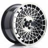 Alu kola Japan Racing JR14 16x8 ET25 BLANK Gloss Black w/Machined Face