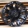 Alu kola design Offroad 17x9 12x114.3/139.7 ET10 78.1 černé