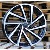 Alu kola design Volkswagen 19x8 5x112 ET43 57.1 černé