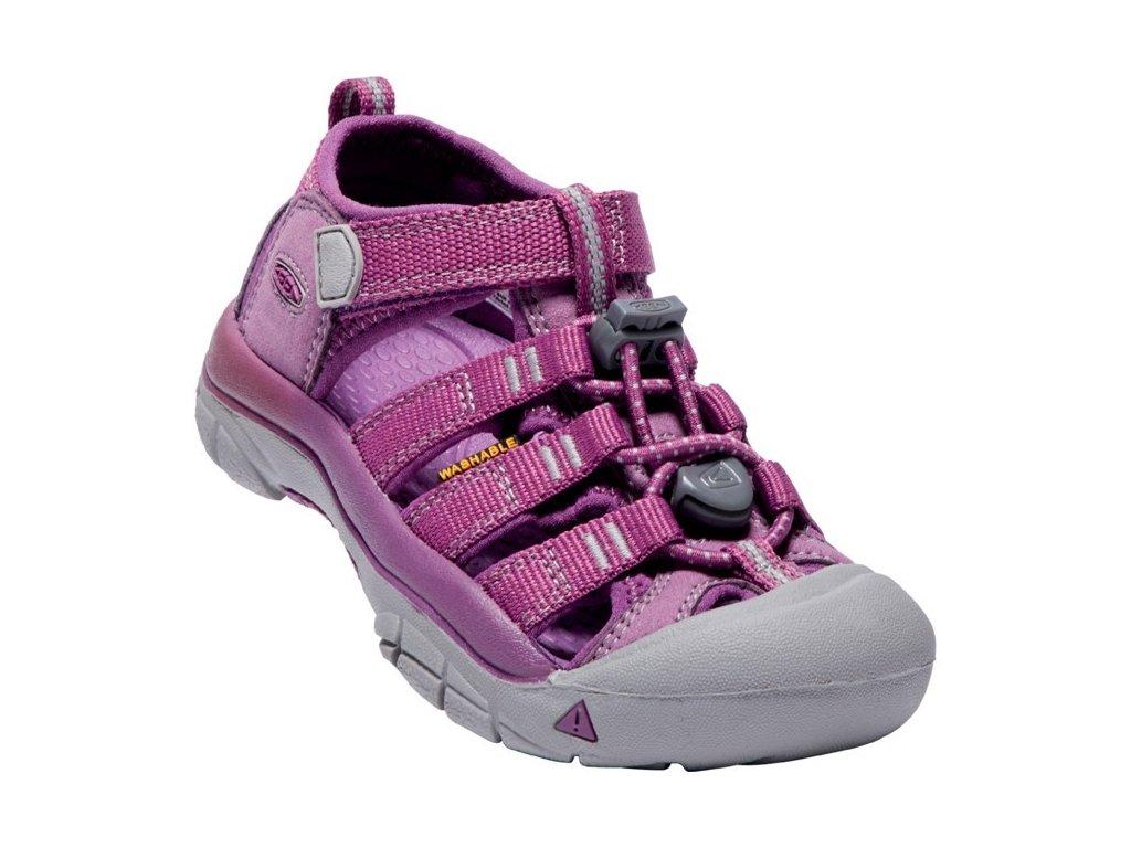 Dětské letní sandály KEEN NEWPORT H2 K/JR - fialové