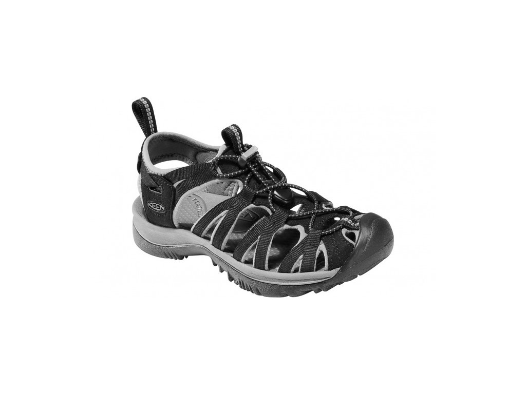 Dámské superlehké sandály KEEN WHISPER W - černé