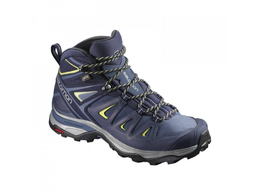 Dámské trekingové boty SALOMON X ULTRA 3 WIDE MID GTX