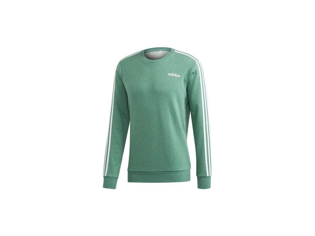 Adidas Essentials 3 S Crew French Terry zelená