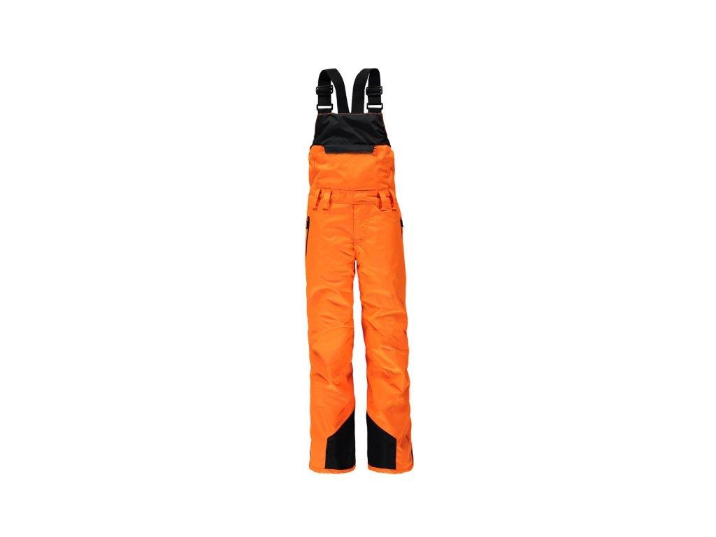 Chlapecké lyžařské kalhoty BRUNOTTI Dominos - oranžové