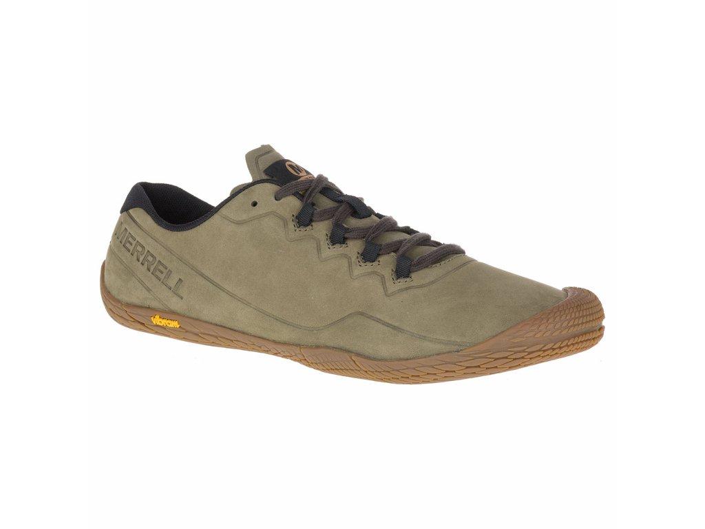 Merrell VAPOR GLOVE 3 LUNA LTR dusty olive pánská obuv