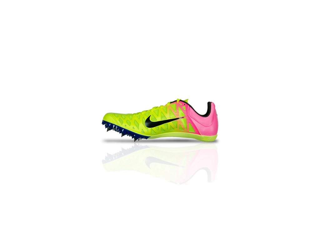 nike zoom maxcat 4 yellow pink 1