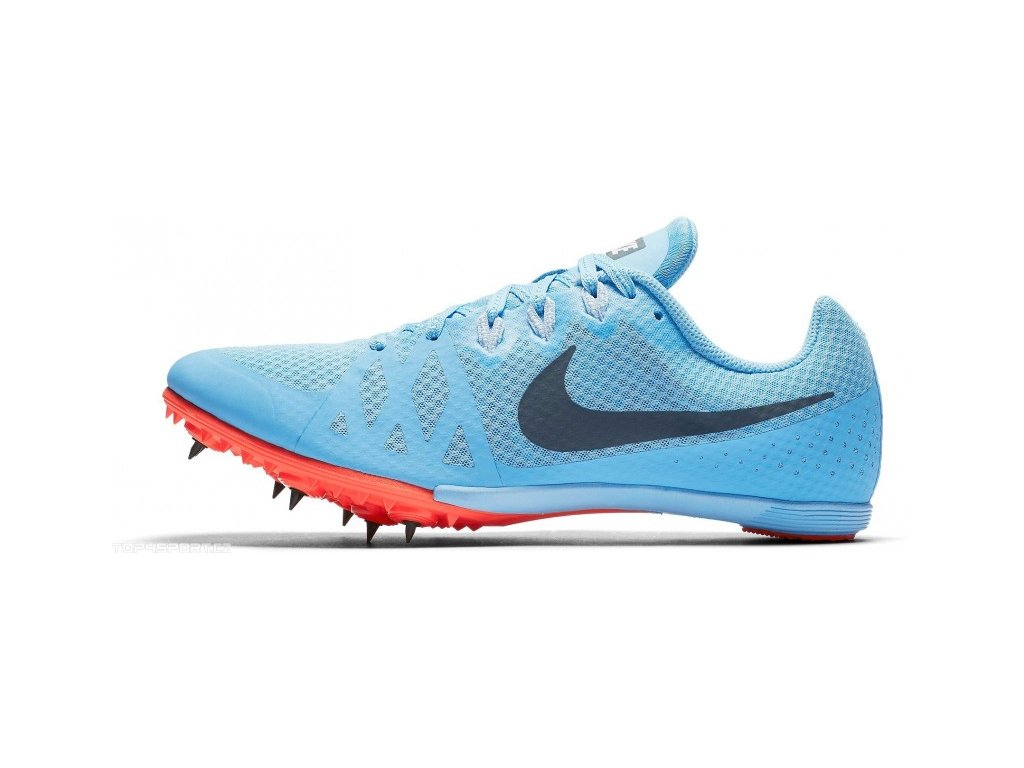 nike zoom rival m 8 blue red unisex 1