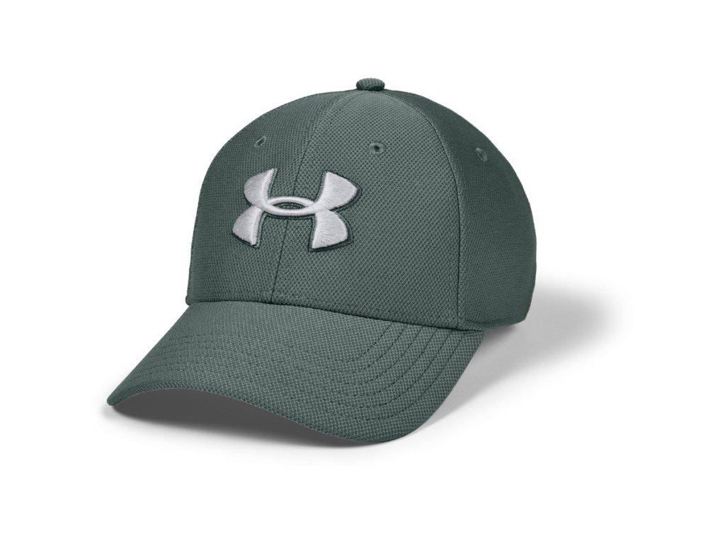 Under Armour MEN'S BLITZING 3.0 CAP zelená pánská kšiltovka