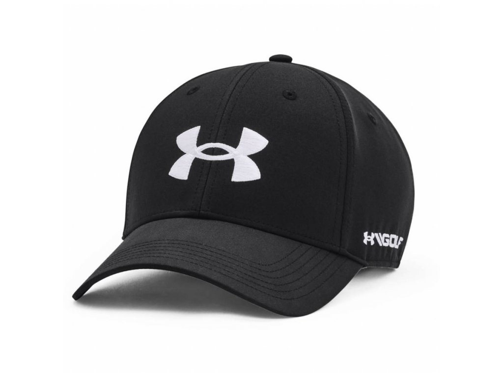 Under Armour GOLF96 HAT černá pánská kšiltovka