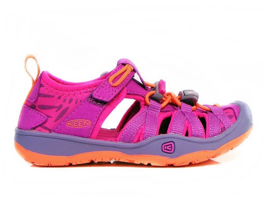 Dětské letní sandály KEEN MOXIE SANDAL K - růžové