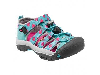 Dětské letní sandály KEEN NEWPORT H2 K - modré/růžové