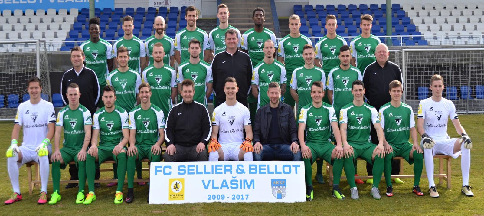 FC Sellier&Bellot Vlašim - týmové foto