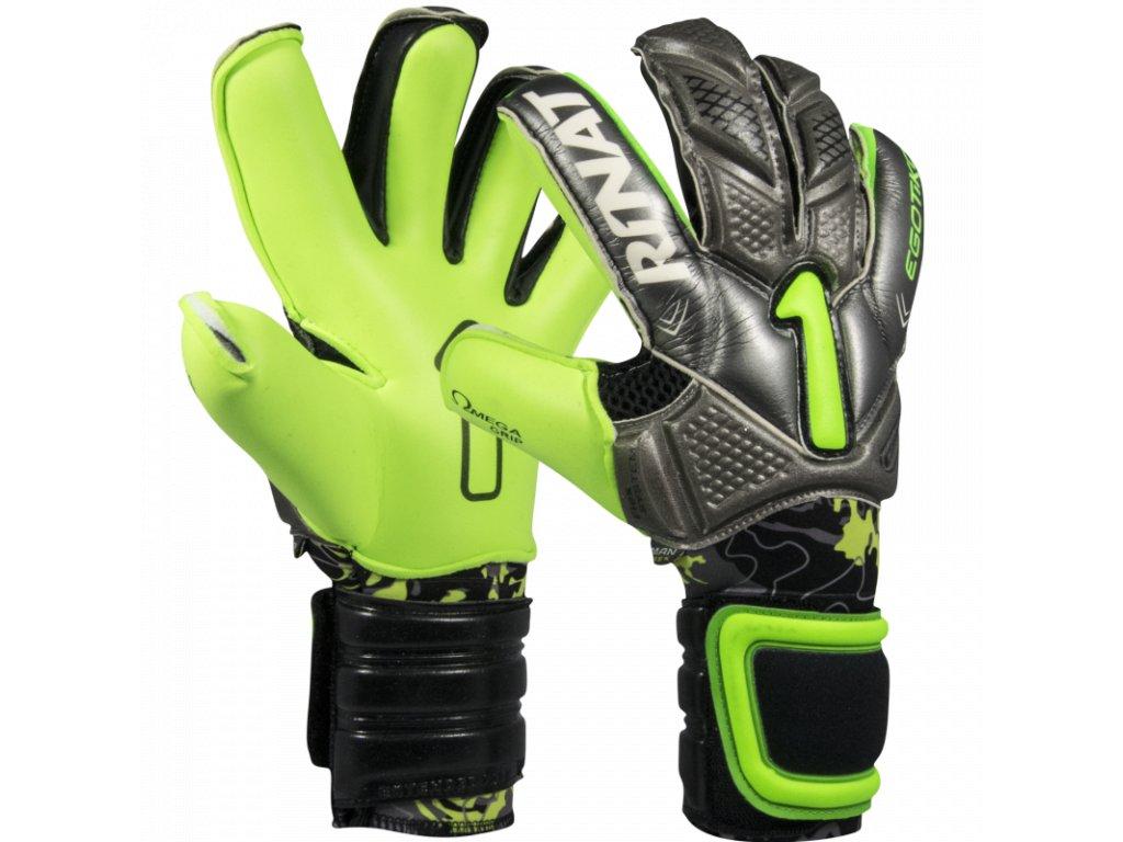 Profesionální brankářské rukavice Rinat Egotiko PRO 2.0 šedá 1